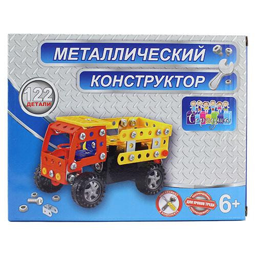 898Н-2 Констр. мет. Грузовик, 122 дет. / 72 шт.